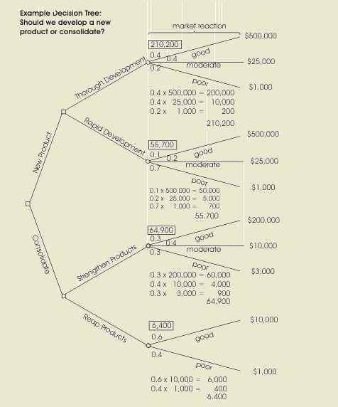 decision tree for west abbey winery